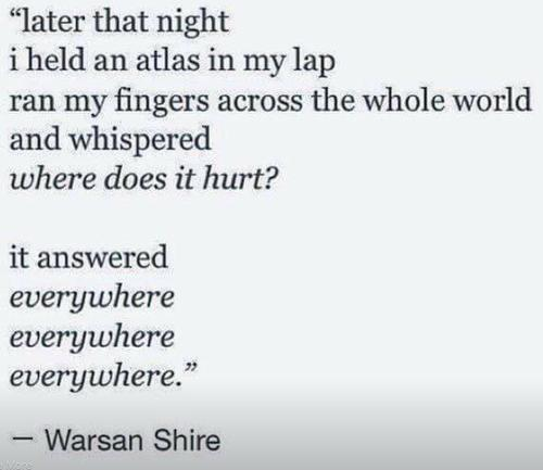 Image result for Warsan Shire home